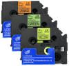 3 Tape Value Fluorescent tape Pack