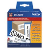 Brother dk2223 printer labels