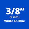 TC-64Z1 white on blue tape