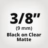 TC-MOZ Black on Clear Matte