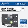 TZE-FX231 black on white