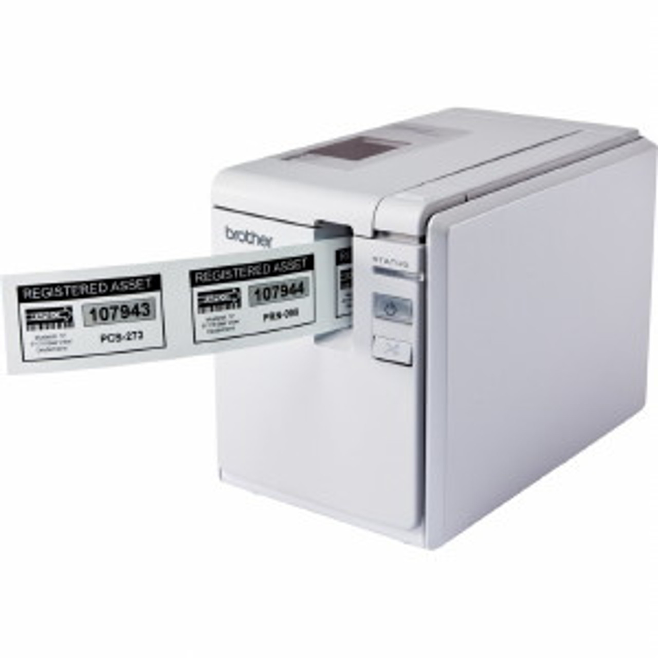 Schriftbandkassette 36mm SCHWARZ-ORANGE FL für BROTHER P-Touch 9700 PC