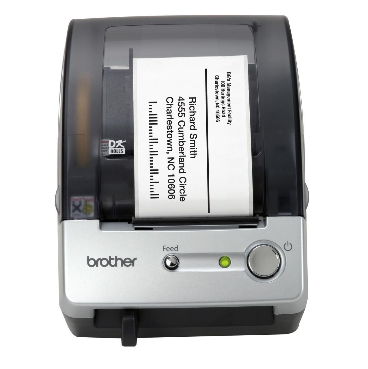 Brother QL500 Die Cut PC Label Printer