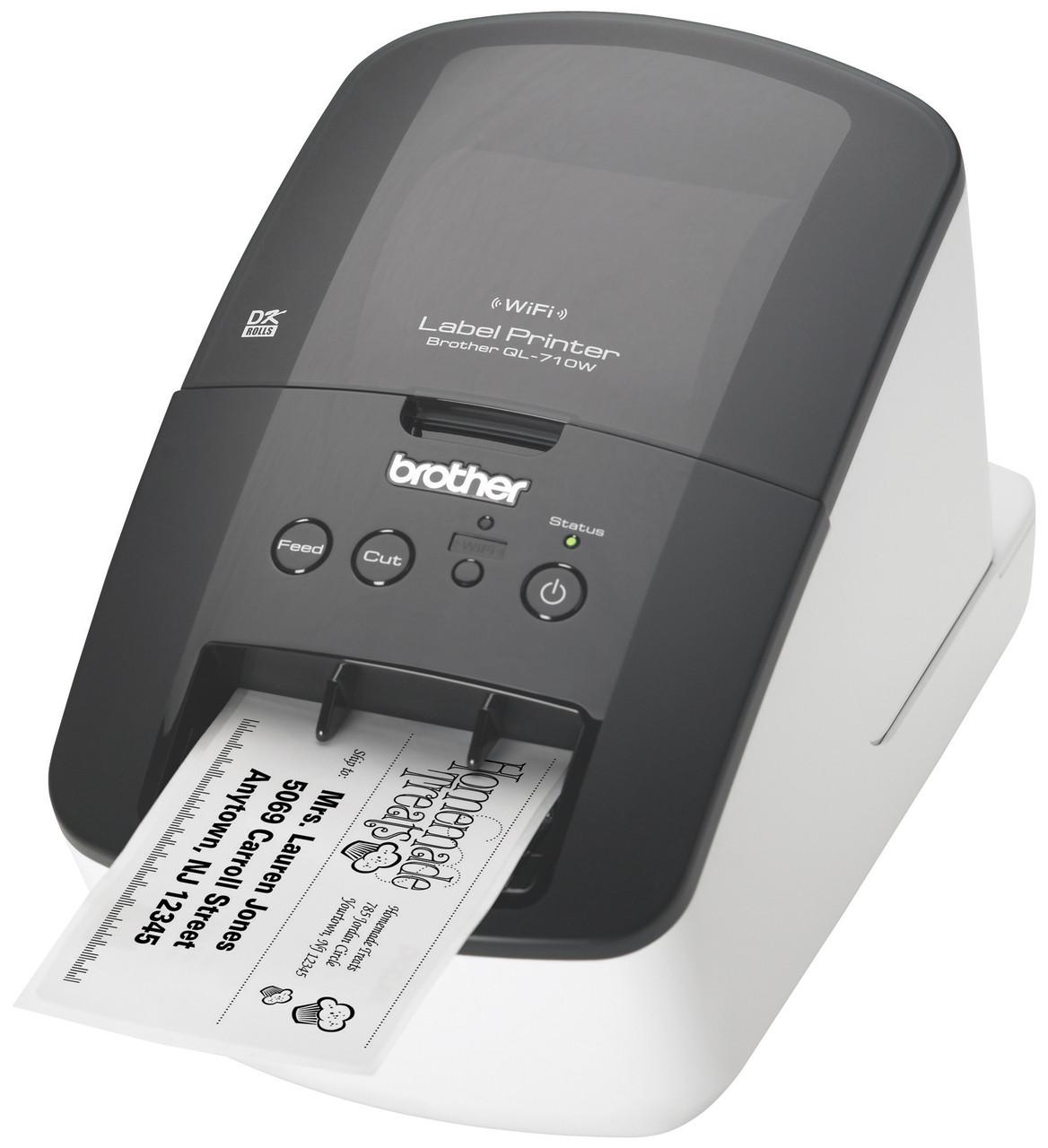 Brother QL-710W Wireless Label Printer \u2013 PtouchDirect.com
