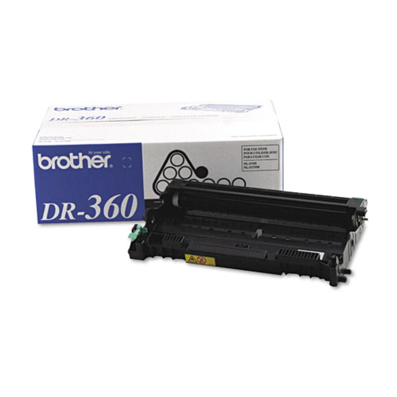 12K YLD GENUINE OEM BROTHER DR360 DR-360 DRUM UNIT