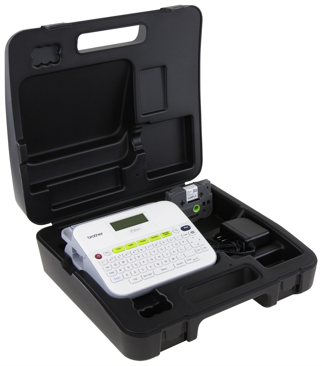 competitive price fdb8f 60389 Brother PT-D400VP Easy-to-Use Label Maker with AC Adapter & Case