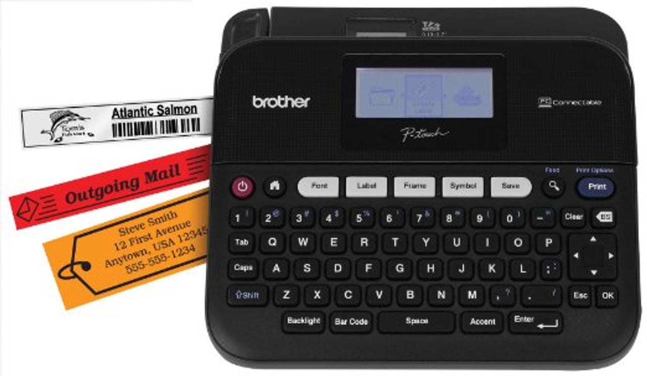 brother pt-d450 pc-connectable p-touch label maker