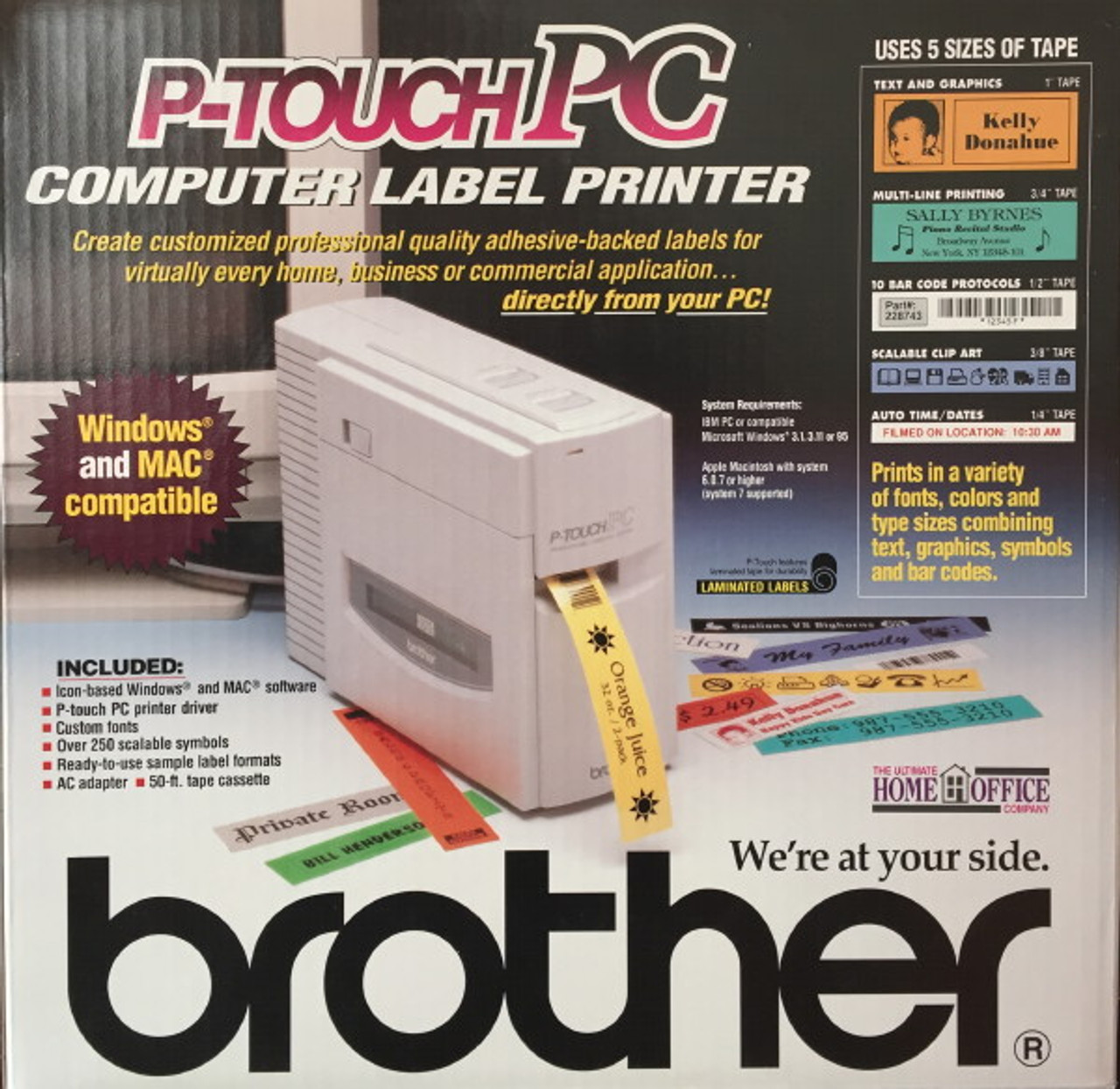 Brother PT-PC Computer Label Printer