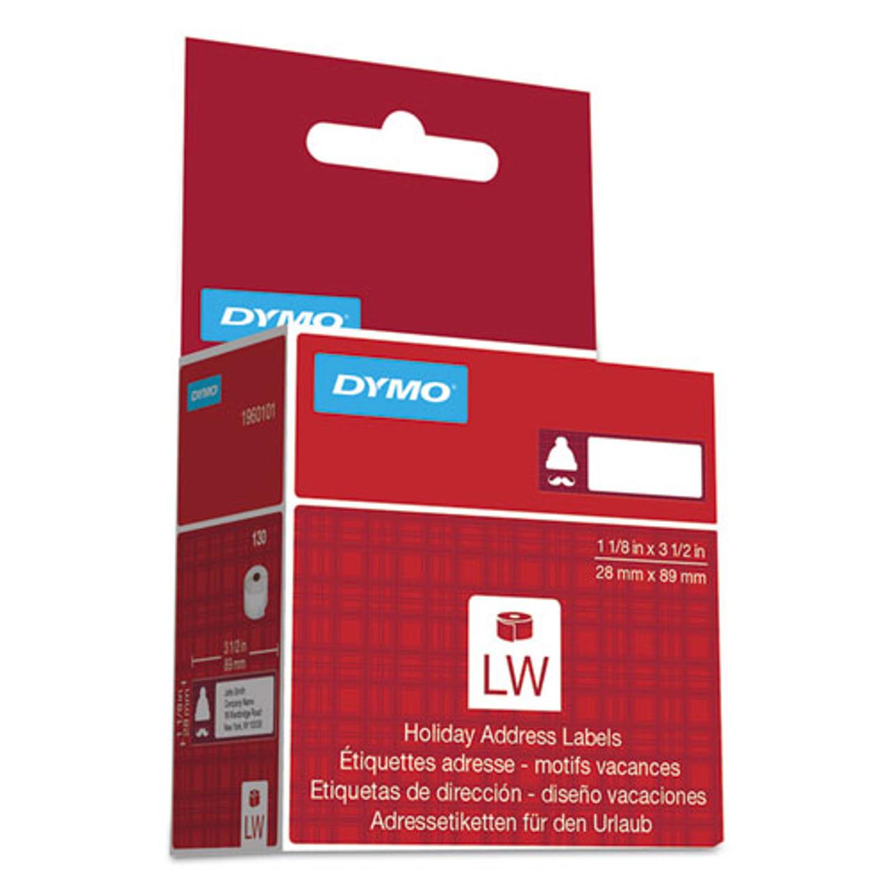 edizione limitata albero Tree Dymo LabelWriter Holiday Address Labels 28 x 89 mm