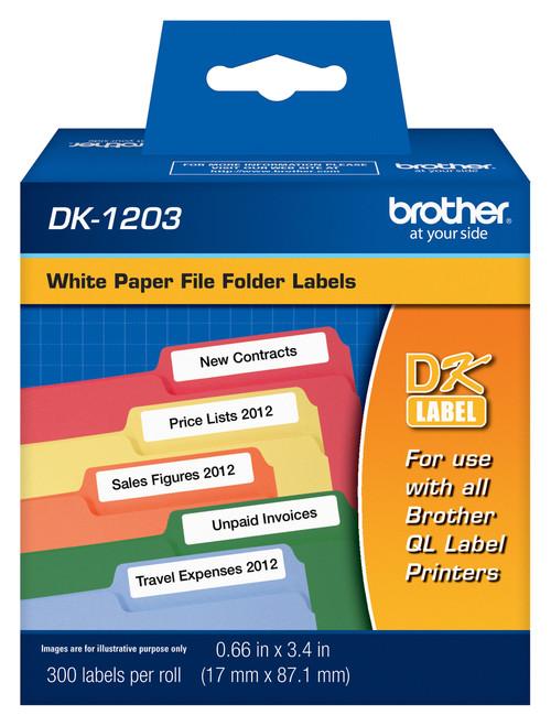 Brother dk1203 printer labels