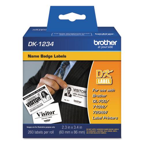 Brother dk1234 printer labels