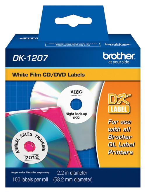 Brother dk1207 printer labels