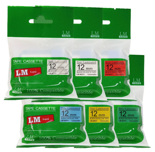 LM 6 Tape Value Pack