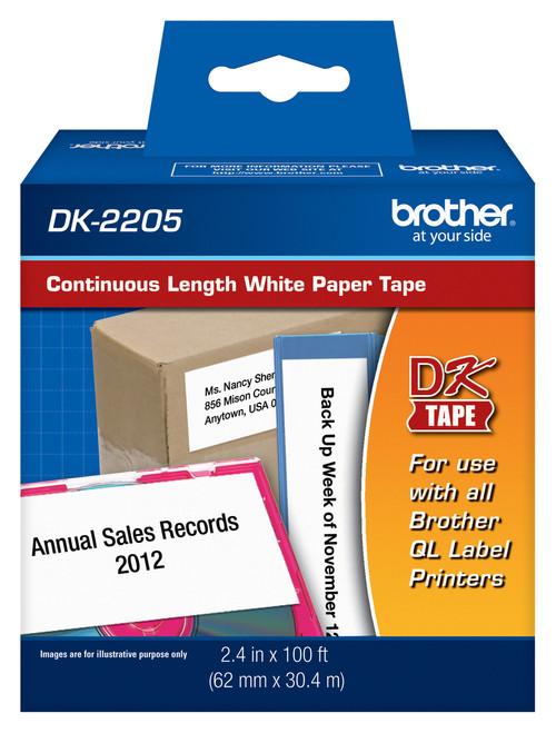 Brother dk2205 printer labels