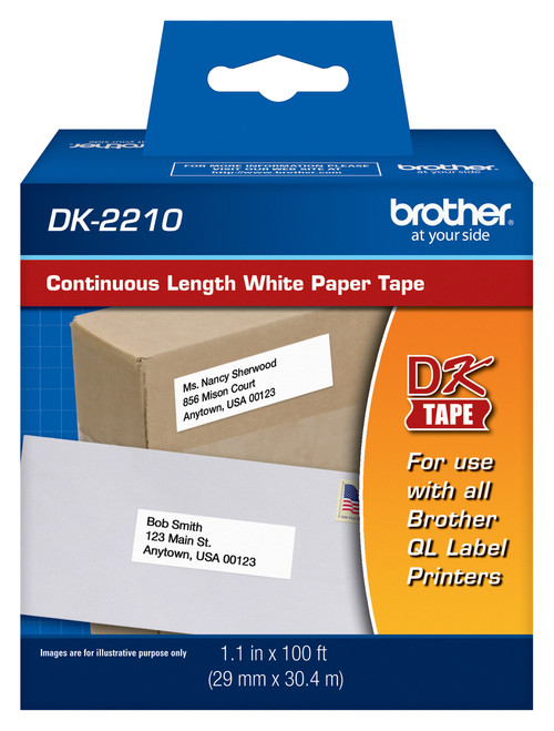 Brother dk2210 printer labels
