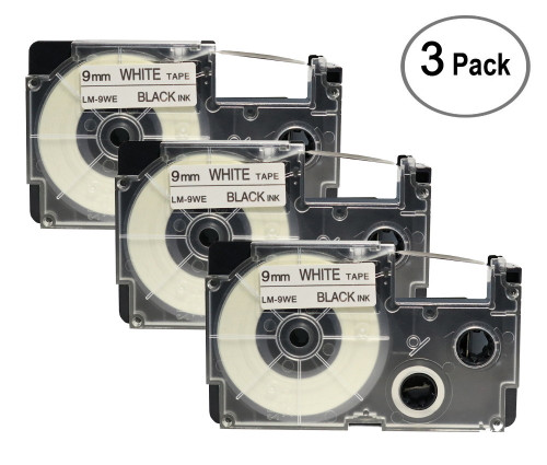 3/pack XR9WE replacement tapes