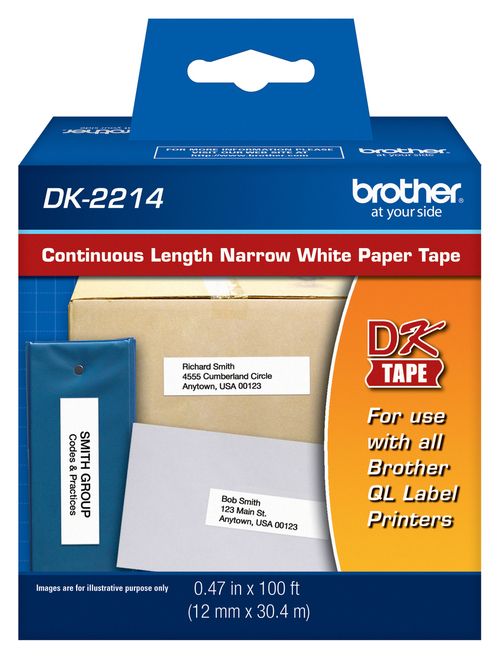 Brother dk2214 printer labels