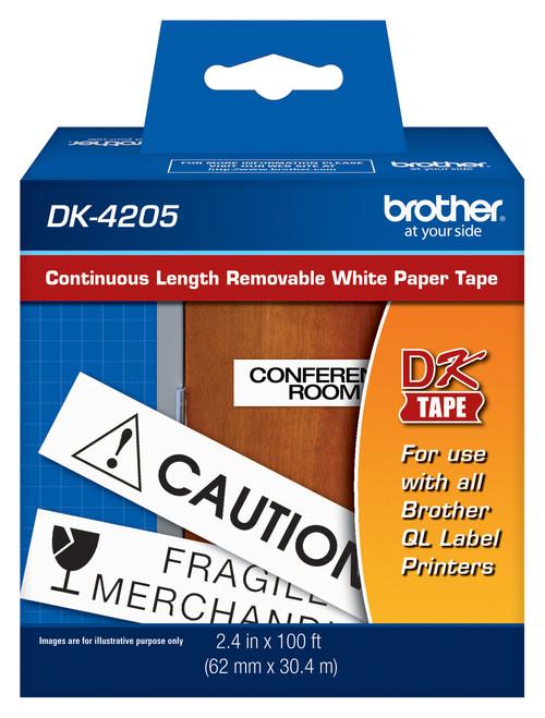Brother dk4205 printer labels