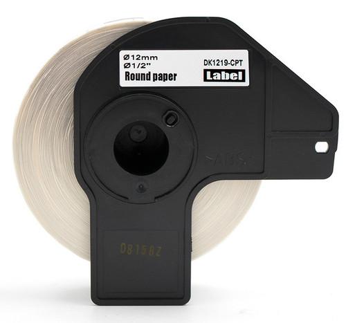 Compatible dk1219 round printer labels