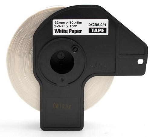 Compatible Brother dk2205 printer labels