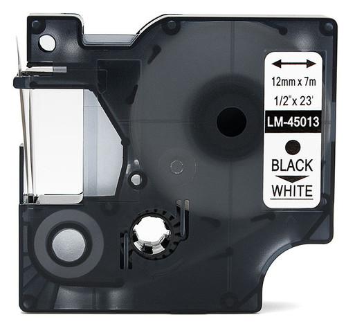 Compatible Dymo 45013 D1 tape