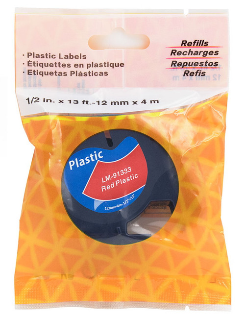 Compatible Dymo 91333 LetraTAG tape