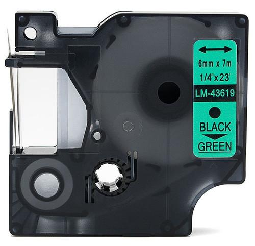 Compatible Dymo 43619 D1 tape 6mm