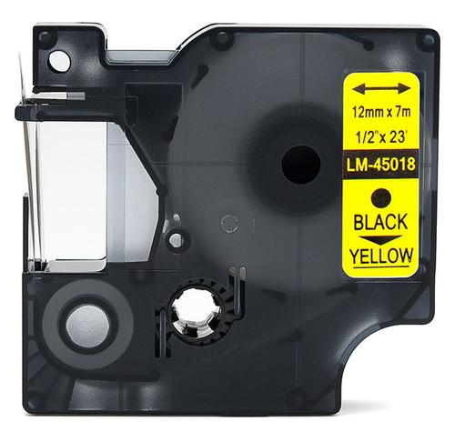 Compatible Dymo 45018 D1 tape