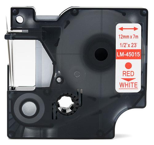 Compatible Dymo 45015 D1 tape