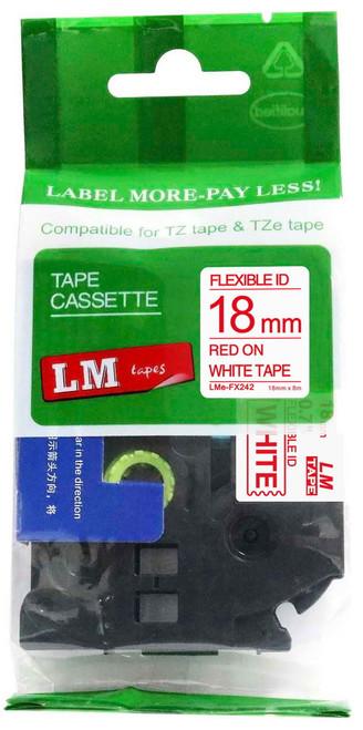 Compatible TZEFX242 flexible p-touch tape