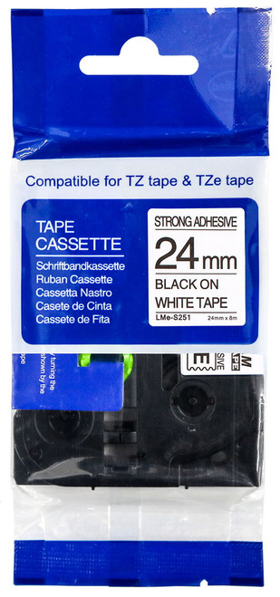 Compatible TZ-S251 p-touch tape