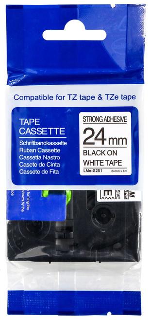 Compatible TZ-S251 p-touch tape