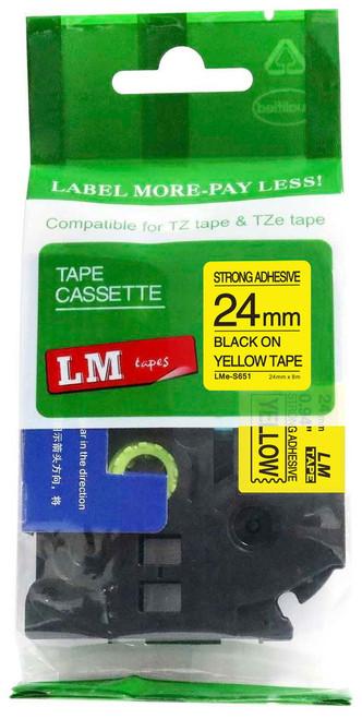 Compatible TZ-S651 p-touch tape