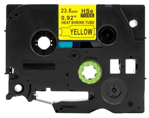 HSe .92 In tube black on yellow