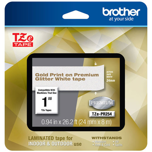 Brother TZe-PR254 p-touch tape