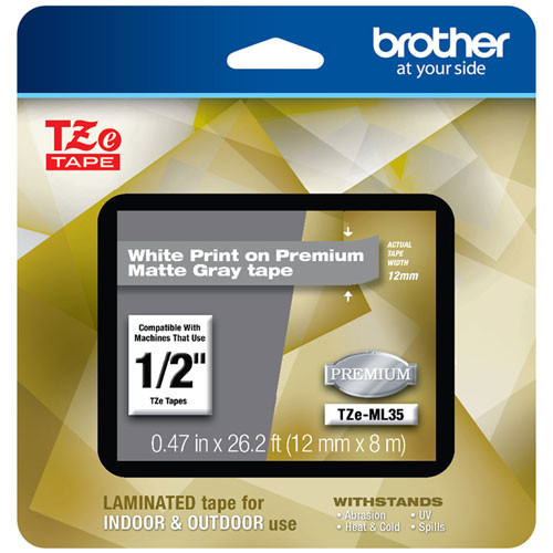 Brother TZe-ML35 p-touch tape