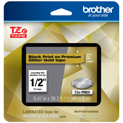 Brother TZe-PR831 p-touch tape