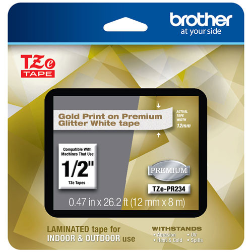 Brother TZe-PR234 p-touch tape