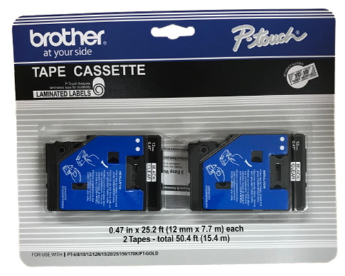 Brother TC10 p-touch tape