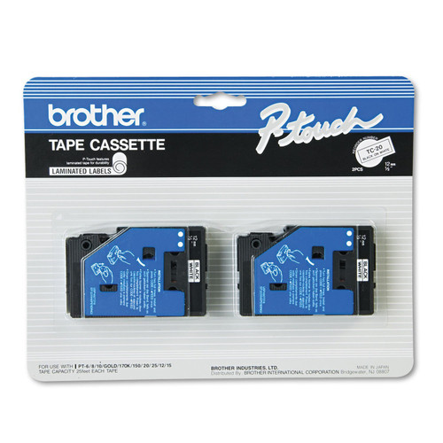 Brother TC20 p-touch tape