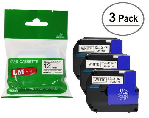 value pack 12mm compatible m231