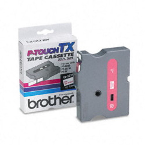 Brother TX-2321 p-touch labels