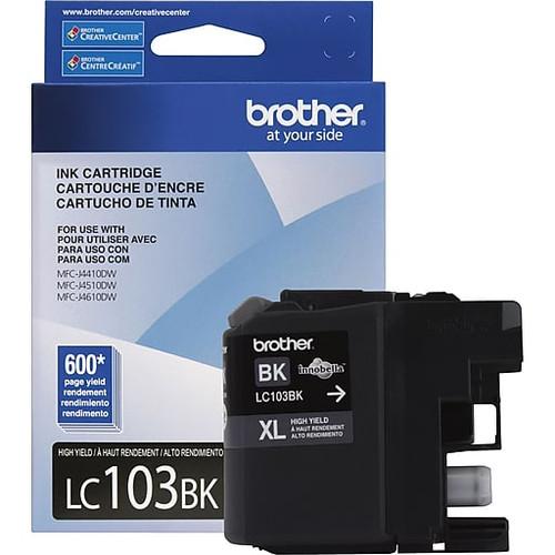 Brother LC-103BK Inkjet Cartridge