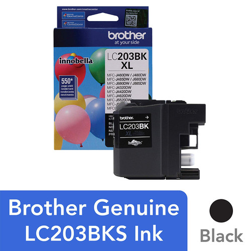 Brother LC-203BK Inkjet Cartridge