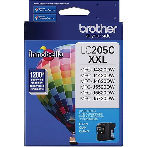 Brother LC-205C Inkjet Cartridge