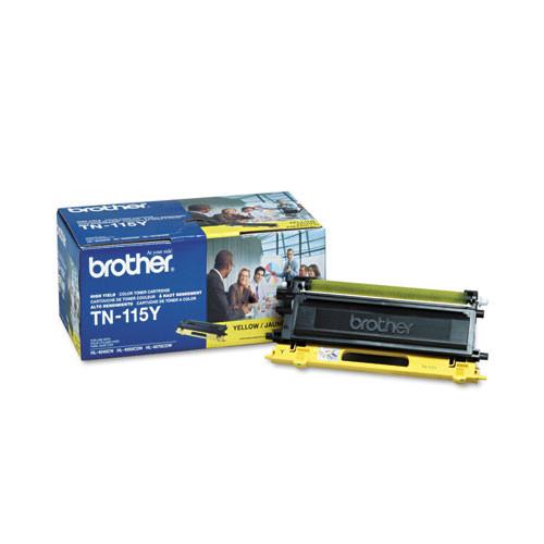 2 PK TN115Y Yellow Toner for Brother DCP9045CDN TN110Y HL-4040CN DCP9040CN