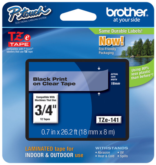 Brother TZ-141 p-touch tape