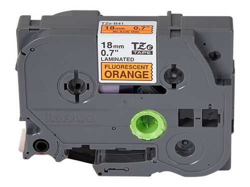 opened box 18mm black on orange