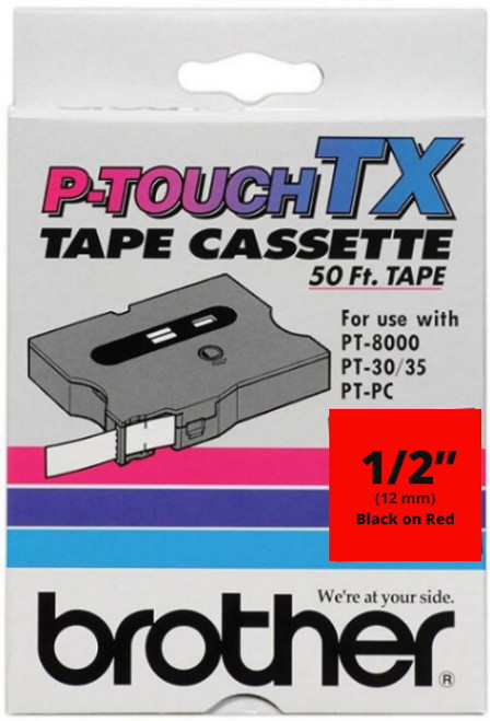 Brother TX-4311 p-touch label