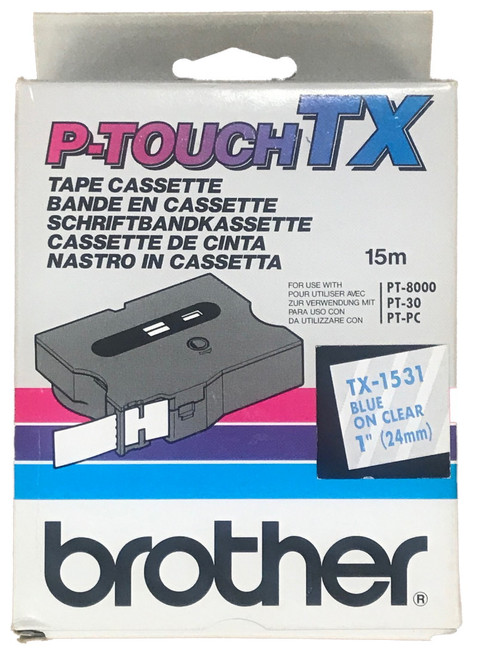 Brother tx1531 Label Tape